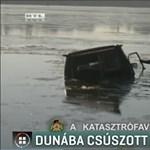 Dunába szakadt terepjáró: dupla szívás lett a vége