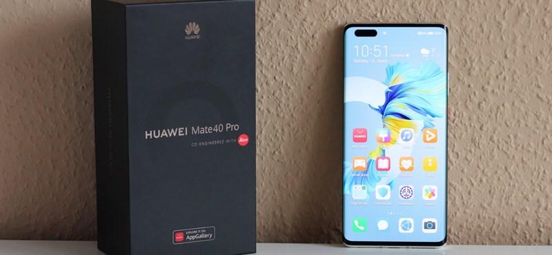 2020 legütősebb Huawei mobilja: kipróbáltuk a Mate 40 Prót