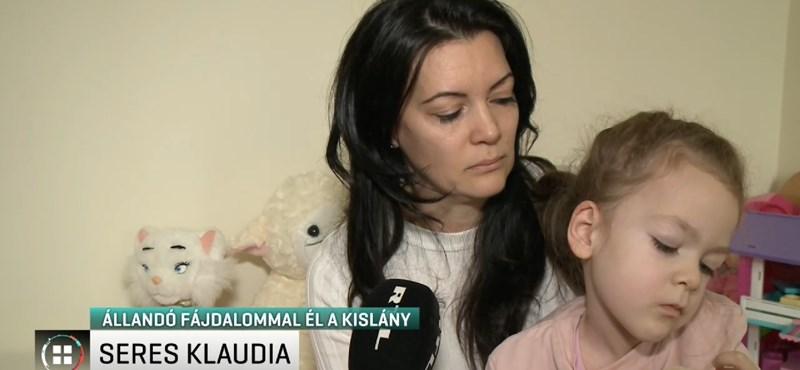 Magyar álhíroldalak miatt került veszélybe az izomsorvadásos Noémi gyógyulása