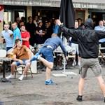 Videó: Újra balhéztak az orosz szurkolók, csak most Lille-ben