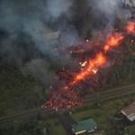 Egyre veszélyesebb a hawaii vulkán, lerobbanhat a teteje