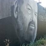 Megszólalt az átfestett Bud Spencer-portrét alkotó graffitis
