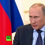 A 68-as kottából játszik most Putyin