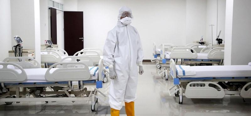 Csak a súlyos tüneteket mutató fertőzöttek kerülnek kórházba