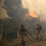Lemondott a miniszter a görög erdőtüzek miatt