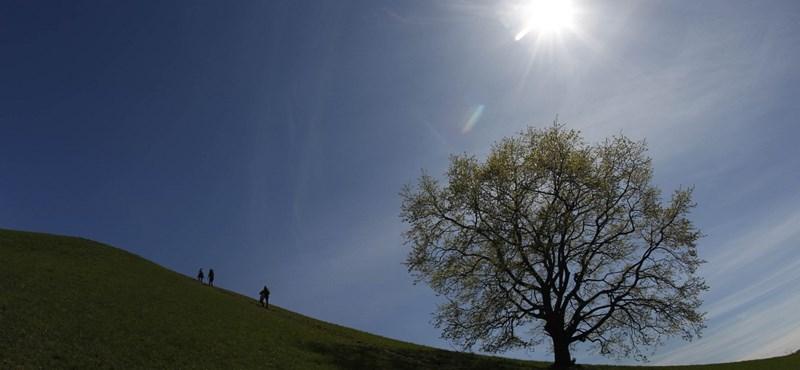 21 fok, napsütés: használja ki a jó időt