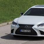 Szentségtörés: teszten a legdurvább japán luxusautó, a Lexus LS500h