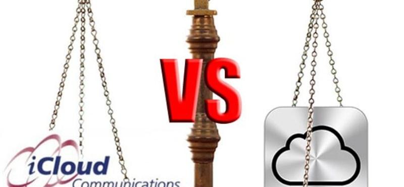 Nevet változtat az iCloud nevű cég – ejtették a pert az Apple ellen
