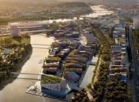 A Déli Városkapu sarkába költözik a Fudan Egyetem, a Diákváros marad a helyén