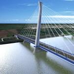 2019 őszére készülhet el az új Duna-híd Komáromnál – fotók
