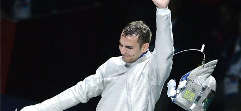 Szilágyi Áron olimpiai bajnok!