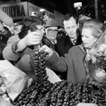 Fotók: Margaret Thatcher a kalocsai paprikát is megízlelte