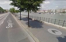 Kísérleti jelleggel átszervezik a forgalmat a főváros egyik legzsúfoltabb kerékpárútján