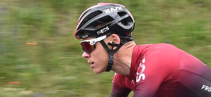 Konyhai baleset miatt kellett műteni a négyszeres Tour de France-győztest