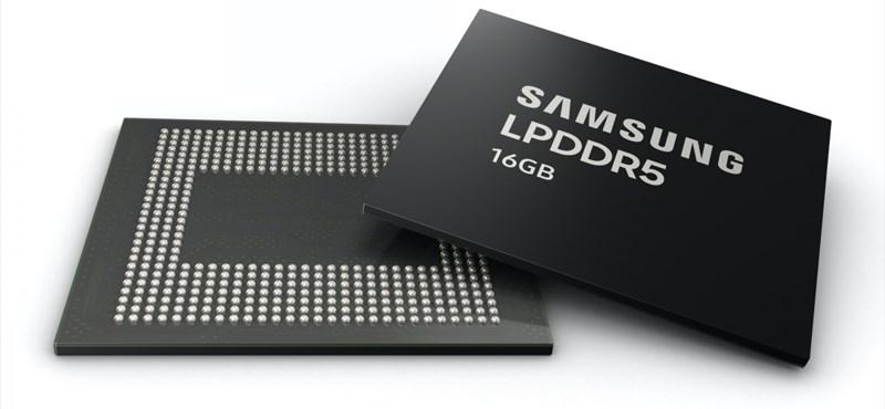 Beindítja a gyártást a Samsung, jöhetnek a 16 GB RAM-mal szerelt csúcsmobilok