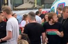 Kis híján nekimentek a portugál drukkereknek a Deák téren Ronaldo gólja után