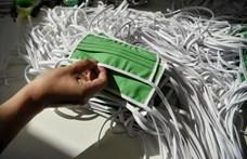 Sok településen osztanak maszkot az önkormányzatok, Pécsen 150 ezret