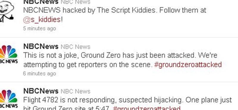 Nem érte támadás a Ground Zero-t - feltörték az NBC Twitter oldalát