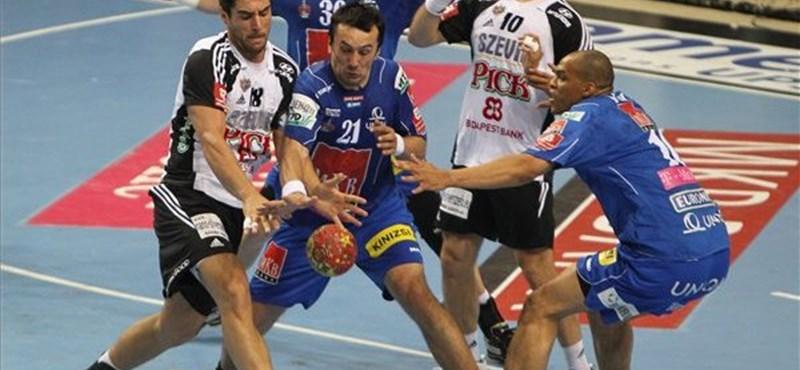 A Veszprém győzött a Szeged ellen a kézilabda döntő első meccsén
