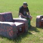 Fotók: tiszavasvári férfi ajándékát vitte magával a Slayer a Hegyaljáról