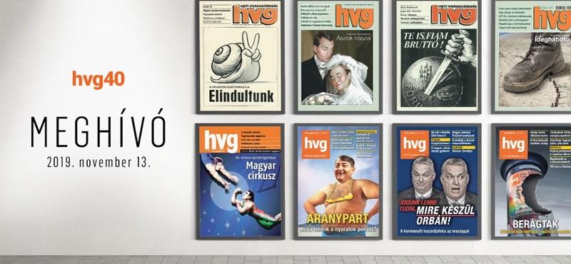 Székesfehérvárra utazik a HVG címlapjait bemutató kiállítás