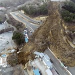 Hatalmas földcsuszamlás vitte el a japán driftkultusz egyik helyszínét