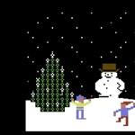 Ilyen volt a karácsony a Commodore 64-en [videó]