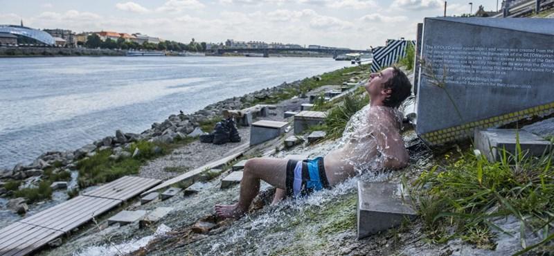 Hőség: vasárnap jön csak egy kis enyhülés