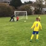 Megszólalt az apa, aki jobb híján belökte a kapuba kisfiát, hogy az ki tudjon védeni egy gólt