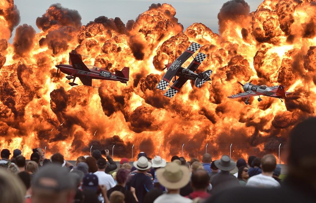 afp.15.02.27. - Lara, Ausztrália: bemutató az ausztráliában rendezett nemzetközi légi parádén - 7képei