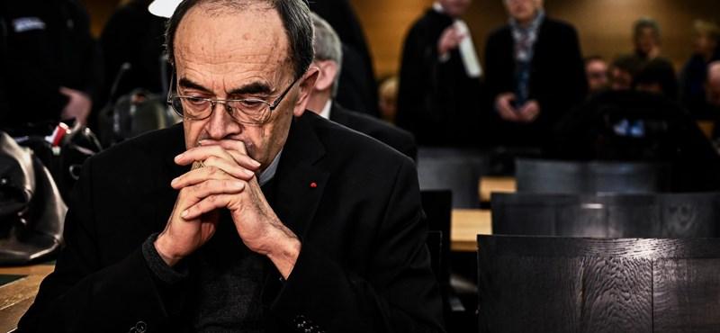 Elítélték Lyon érsekét, aki tudott a pedofíliáról, de nem jelentette