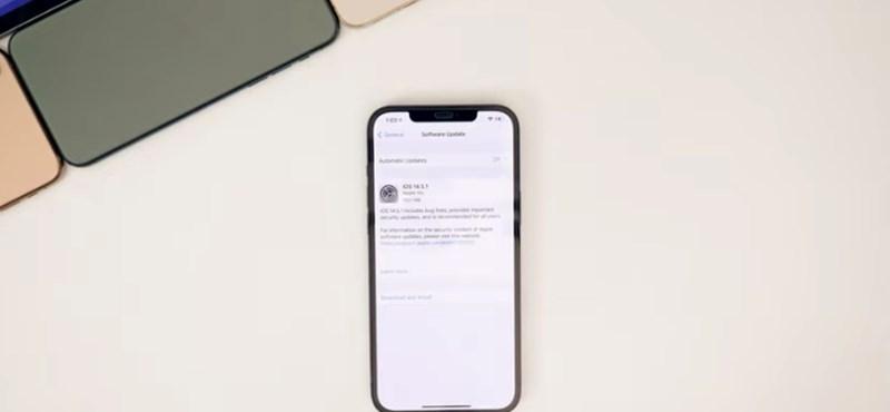 Ön is szenved az iPhone-frissítés mellékhatásaitól? Hamarosan jön a javítás