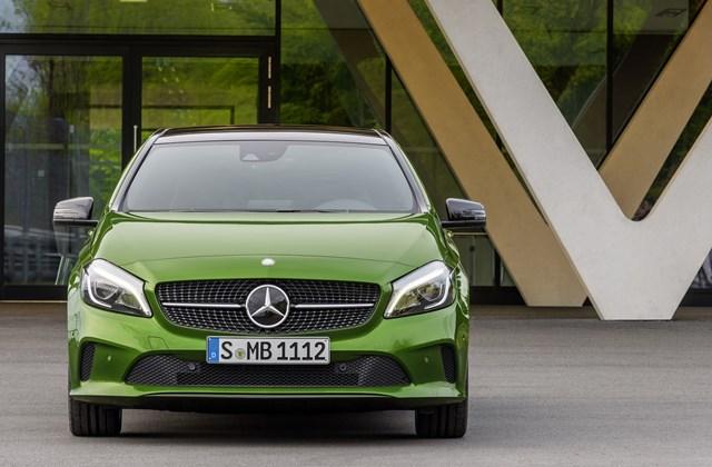 Mercedes A-osztály 2016