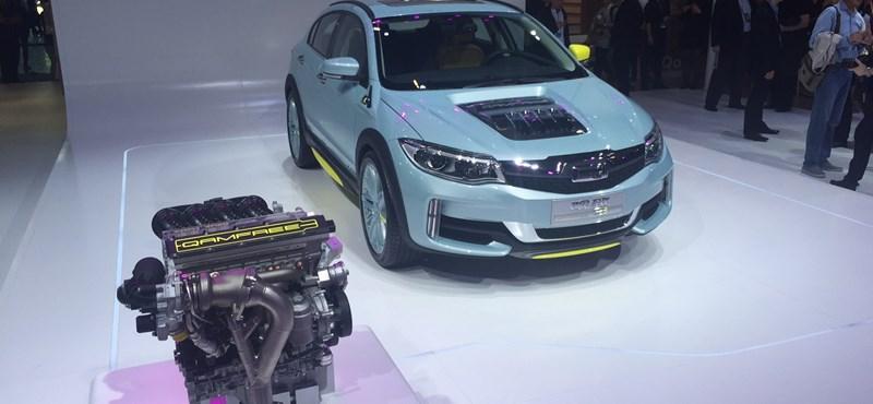 Vezérműtengely nélküli motort tesztel Kínában a Koenigsegg
