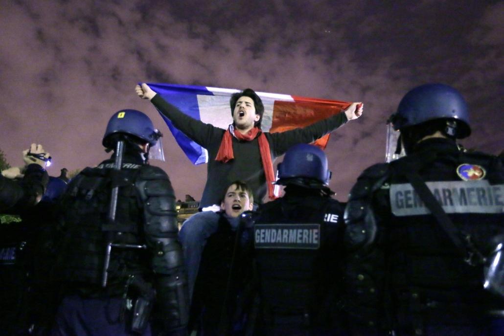 Franciaország, Párizs, melegházasság, tüntetés
