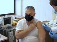 """""""Sárkány ellen sárkányfű"""" - mondta Orbán, mielőtt megkapta a vakcinát"""