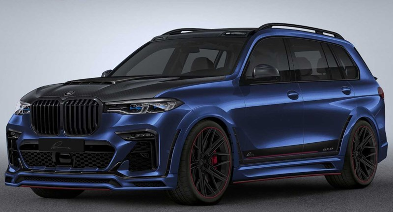 Száguldó erőd a legújabb BMW X7