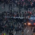 Videó: megint zavargásba fulladt a nemzeti ünnep Varsóban