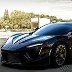 Őszinte benzinpusztító Dubajból: villanymotor nélküli, 350 millió forintos arab sportkocsi