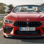 Itt a vadonatúj BMW M8: 625 lóerő kupé és kabrió formában