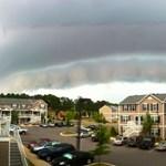 """""""Ez a legfurcsább felhő, amit valaha láttam"""" - fotók"""
