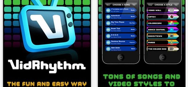 Megjelent a VidRyhtm iPhone-ra, iPad-re