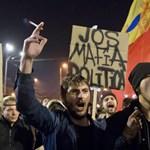 Ismét tízezrek tüntetnek a korrupció ellen Bukarestben