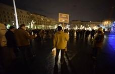 Mára is bepróbálkoztak egy tüntetéssel, de csak pár tucatnyian mentek el