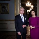 Svéd király: Kudarc a járvány elleni védekezés