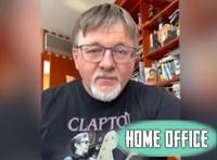 """Dézsi Csaba András a Home office-ban: """"Bejött a szobába, köhögött egy-kettőt. Ennyi."""""""