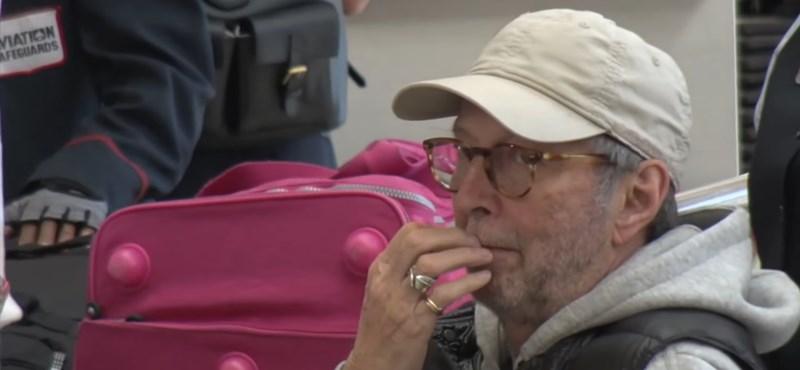 Eric Clapton nagyon beteg – kerekesszékbe kényszerült