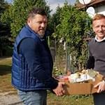 Kleinheisler László is a Fidesznek kampányol