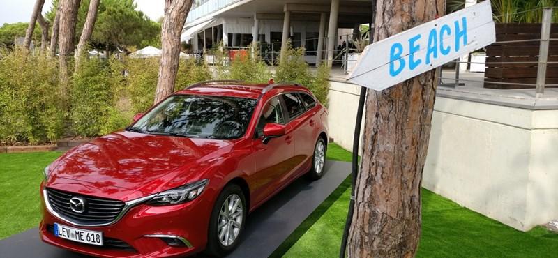 Mazda6 menetpróba: magától tapad a kanyarra