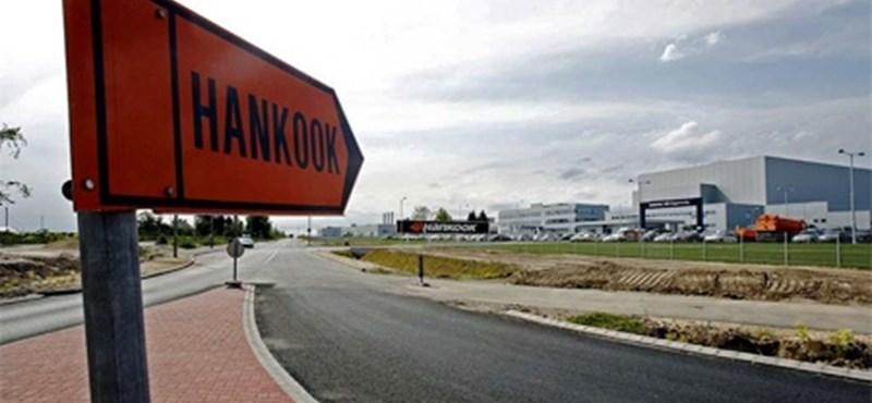 Rosszullét a Hankook-gyárban: nem a szalmonella volt a ludas